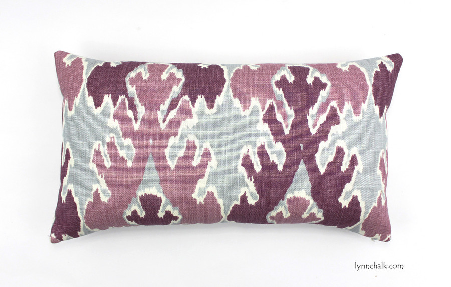 Kelly Wearstler Bengal Bazaar Custom Pillows in Teal (comes in other colors) 2 Pillow Minimum Order