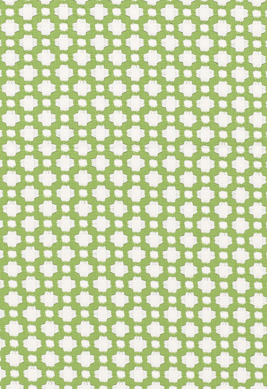 Schumacher Celerie Kemble Betwixt Leaf Blanc