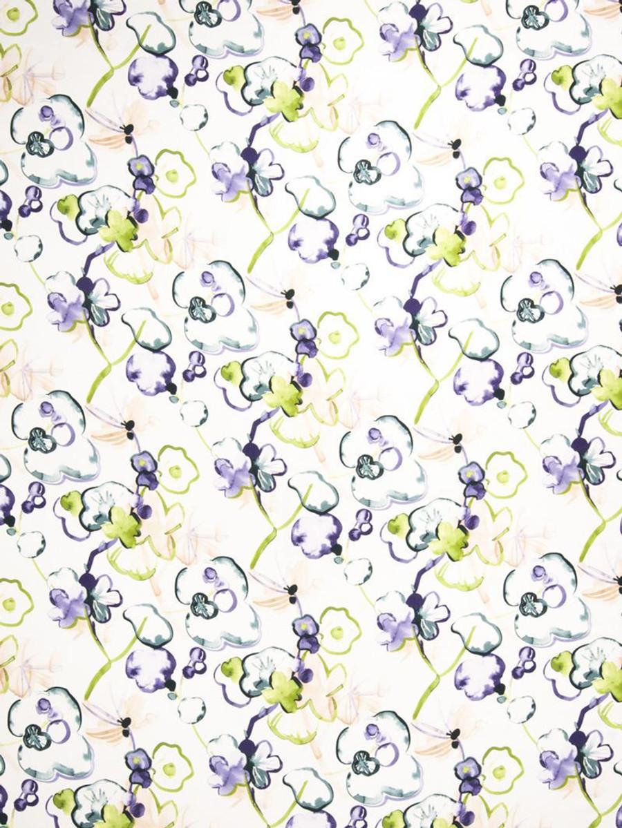 Vervain Santenay Orchid (Lavender/Purple, Green, Aqua/Teal)