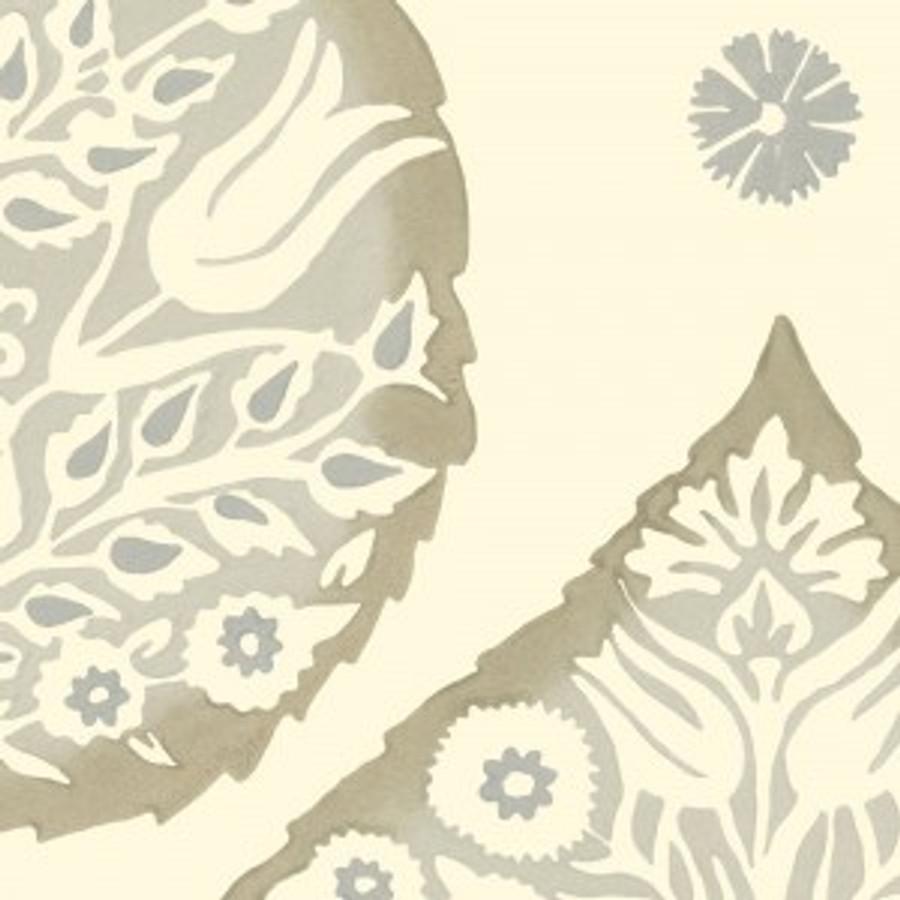 Lotus Wallpaper Latte