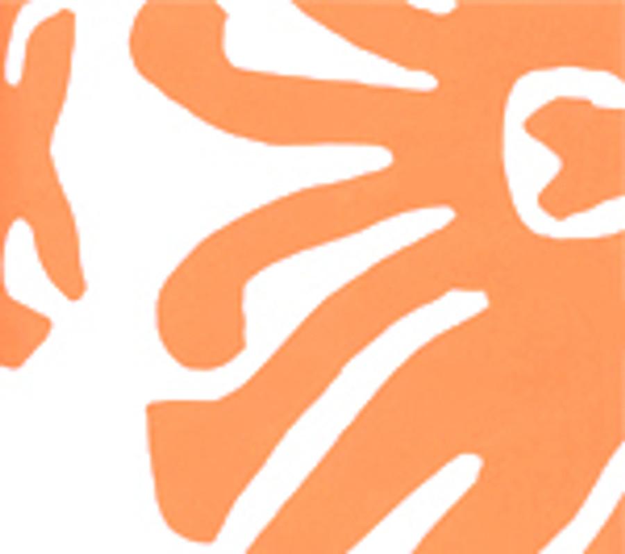 SIGOURNEY Orange on White 2470-03WP
