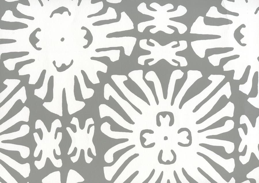 Sigourney Reverse Small Scale Grey on white 2485WP 06
