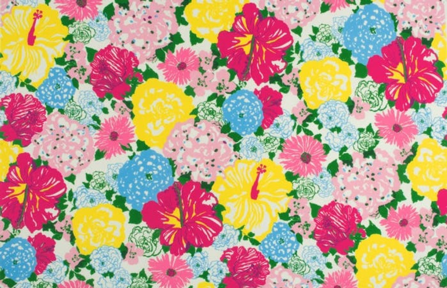 2016103_573 Lilly Pulitzer Heritage Floral II Multi Indoor Outdoor Fabric