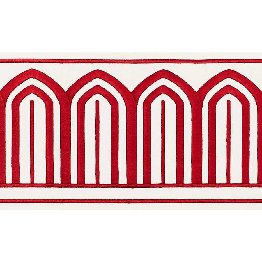 Schumacher Arches Trim Red 70771