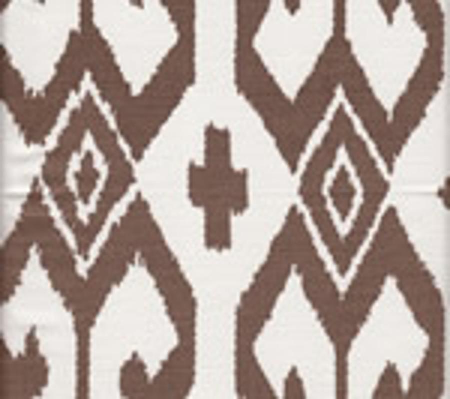Quadrille Alan Campbell Aqua II 7230-06 Brown on White