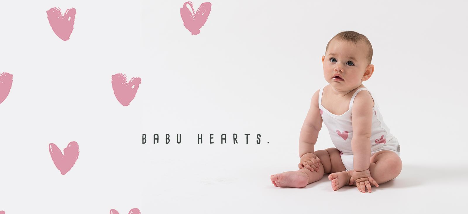 Babu Baby Clothes Organic Merino