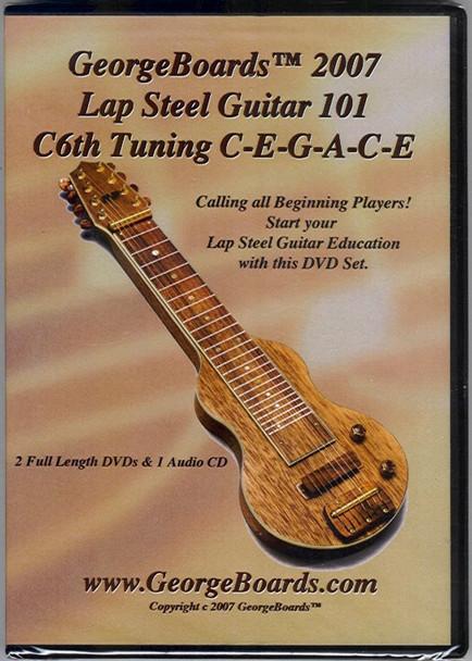 Lap Steel Guitar 101, C6th Tuning DVDs