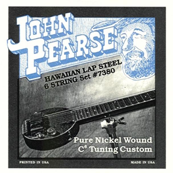 John Pearse #7380 Hawaiian Lap Steel, C6 Tuning