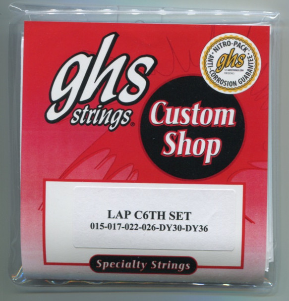 C6th Lap Steel strings by GHS