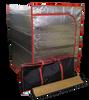 Radiant sauna tent, bamboo sauna mat, and tent travel bag.