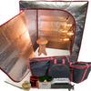 Sauna Fix® Ultimate Bundle 240V AU near infrared sauna fitted with the SAA Australian plug