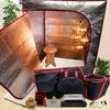 Sauna Fix Ultimate Bundle AU 240 Volt NIR Sauna, fitted for Australian outlets, at Go Healthy Next.
