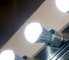 ION Brite® LED Anion Bulb bathroom display