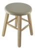 This sauna stool is perfect for use in the sauna, whether inside the tent or shower.