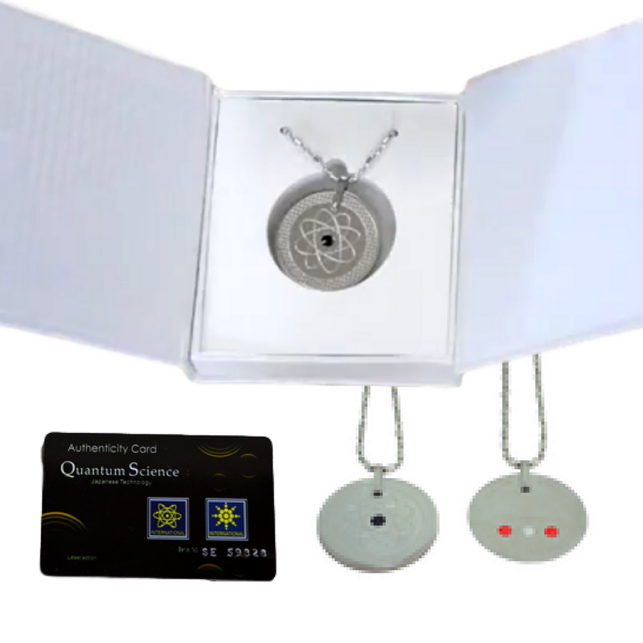 Quantum pendant stainless steel 3 in 1 quantum pendant stainless steel 3 in 1 with germanium near infrared and aloadofball Gallery