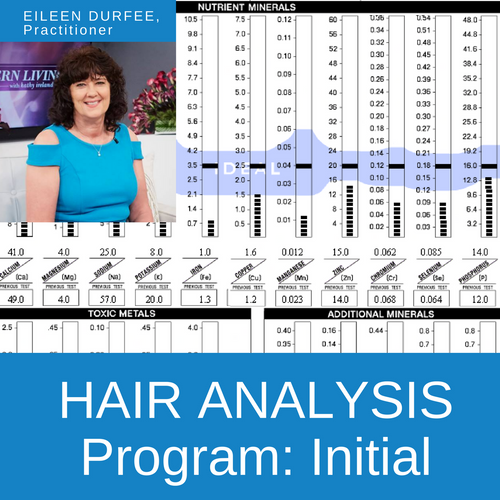Htma And Nutritional Coaching Program Initial Hair Analysis