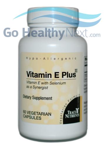 Trace Elements Inc. Vitamin E Plus II (60) at GoHealthyNext