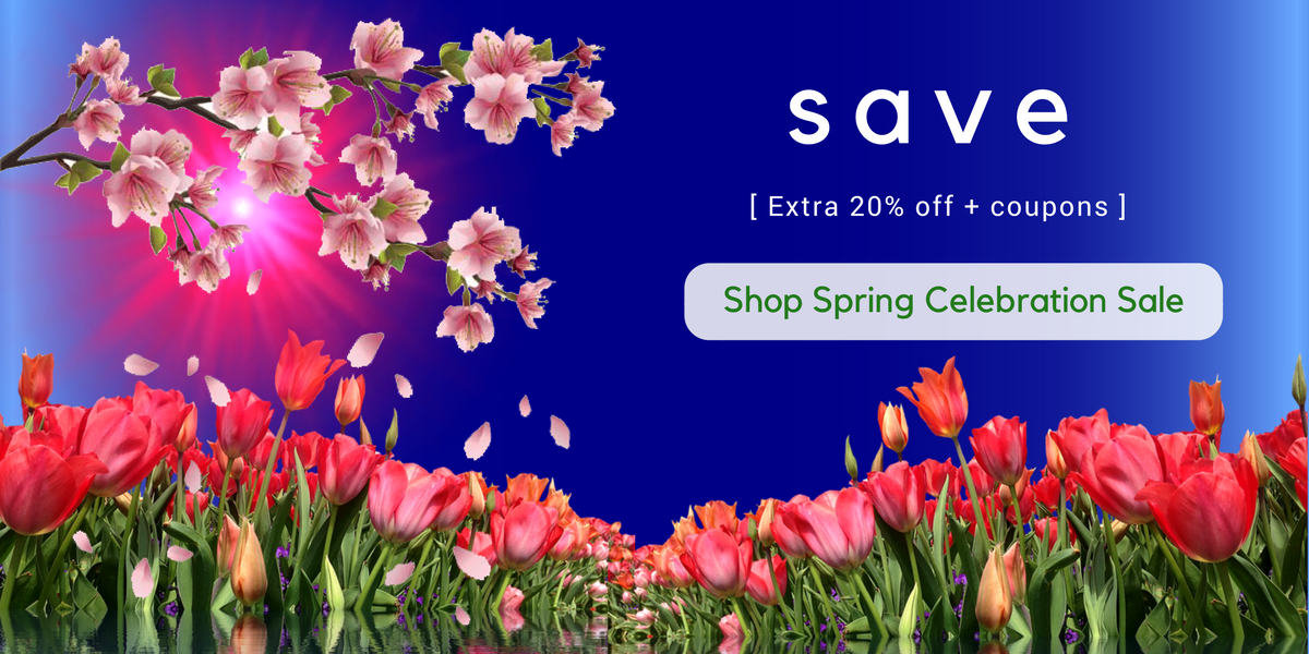 Go Healthy Next Spring Celebration Sale 2018