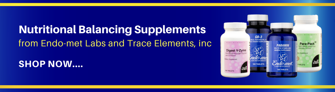 Shop Nutritional Balancing Supplements