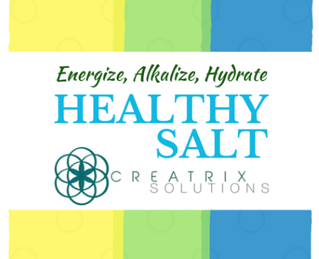 Alkalize, Hydrate and Energize with Health Salt from Creatrix Solutions