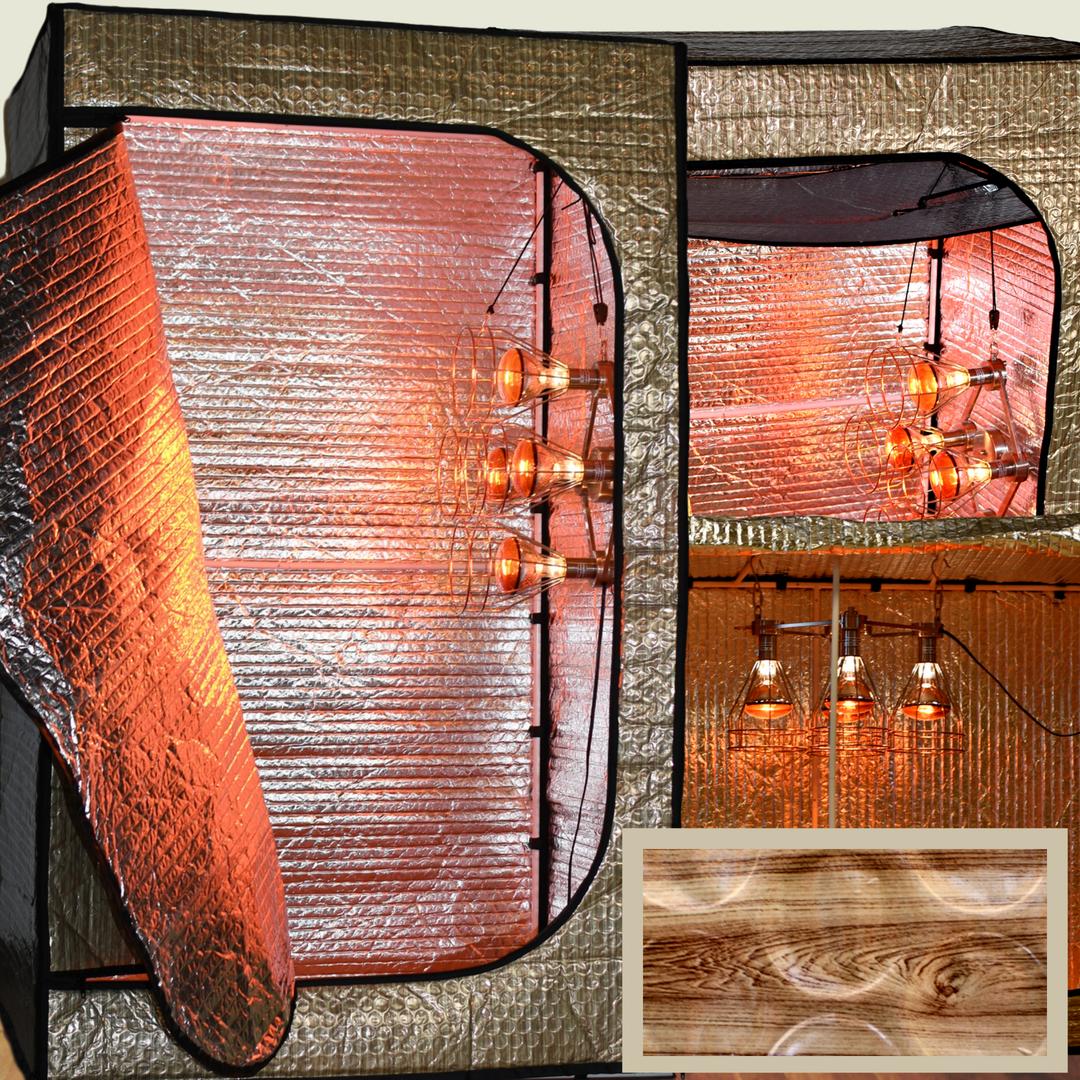 Sauna Fix NIR Convertible Tent Sauna System