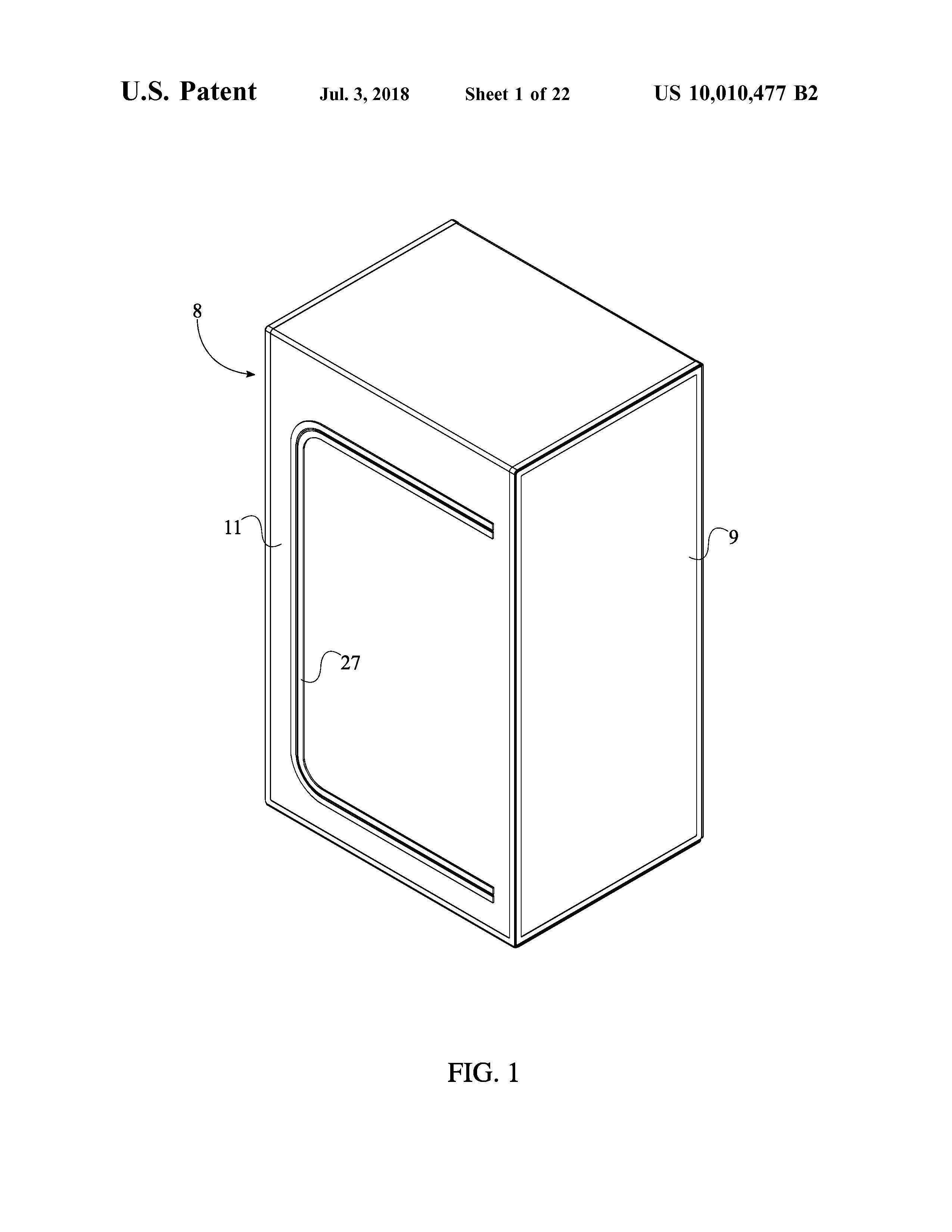 Sauna Tent Patent Page 3