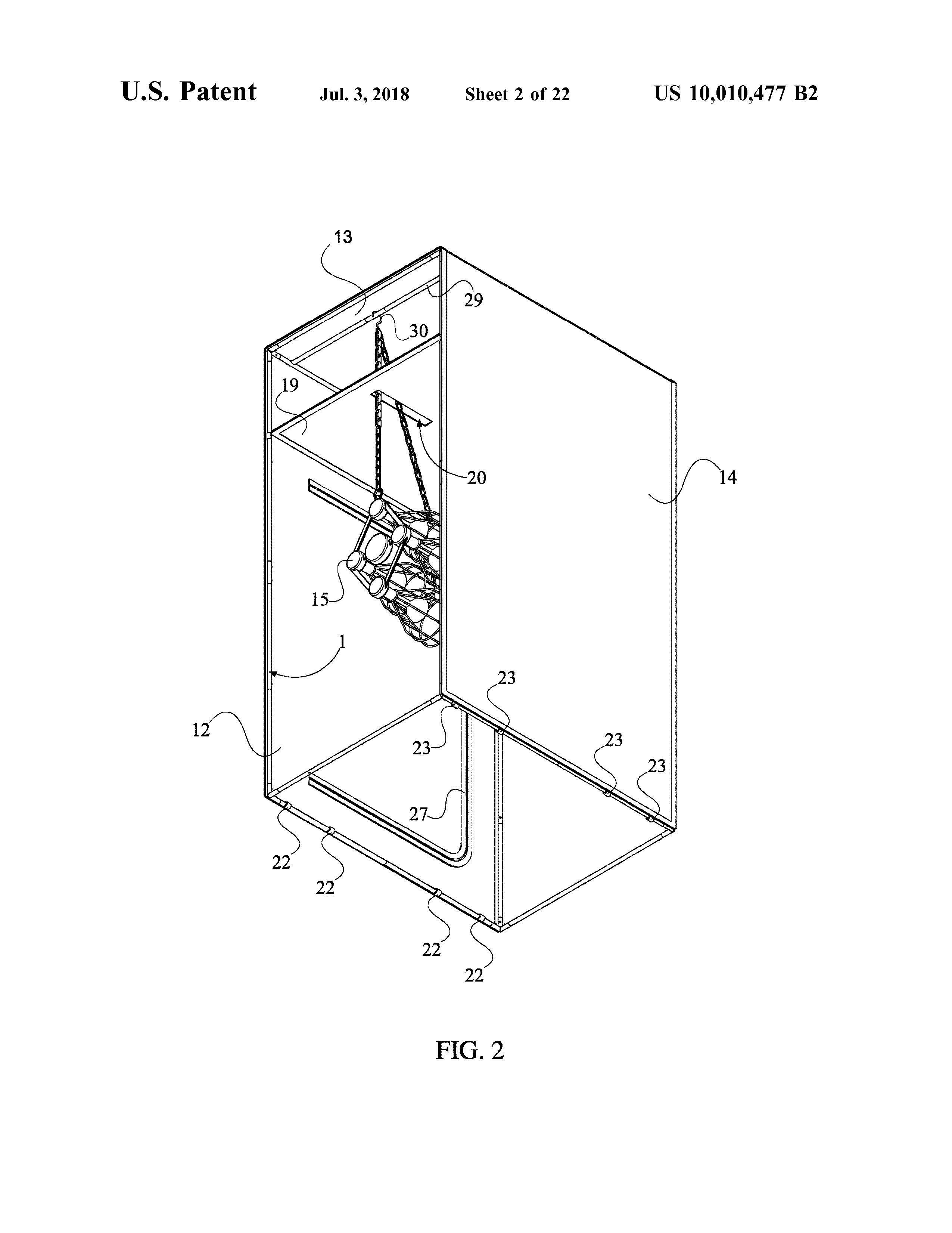 Sauna Tent Patent Page 4
