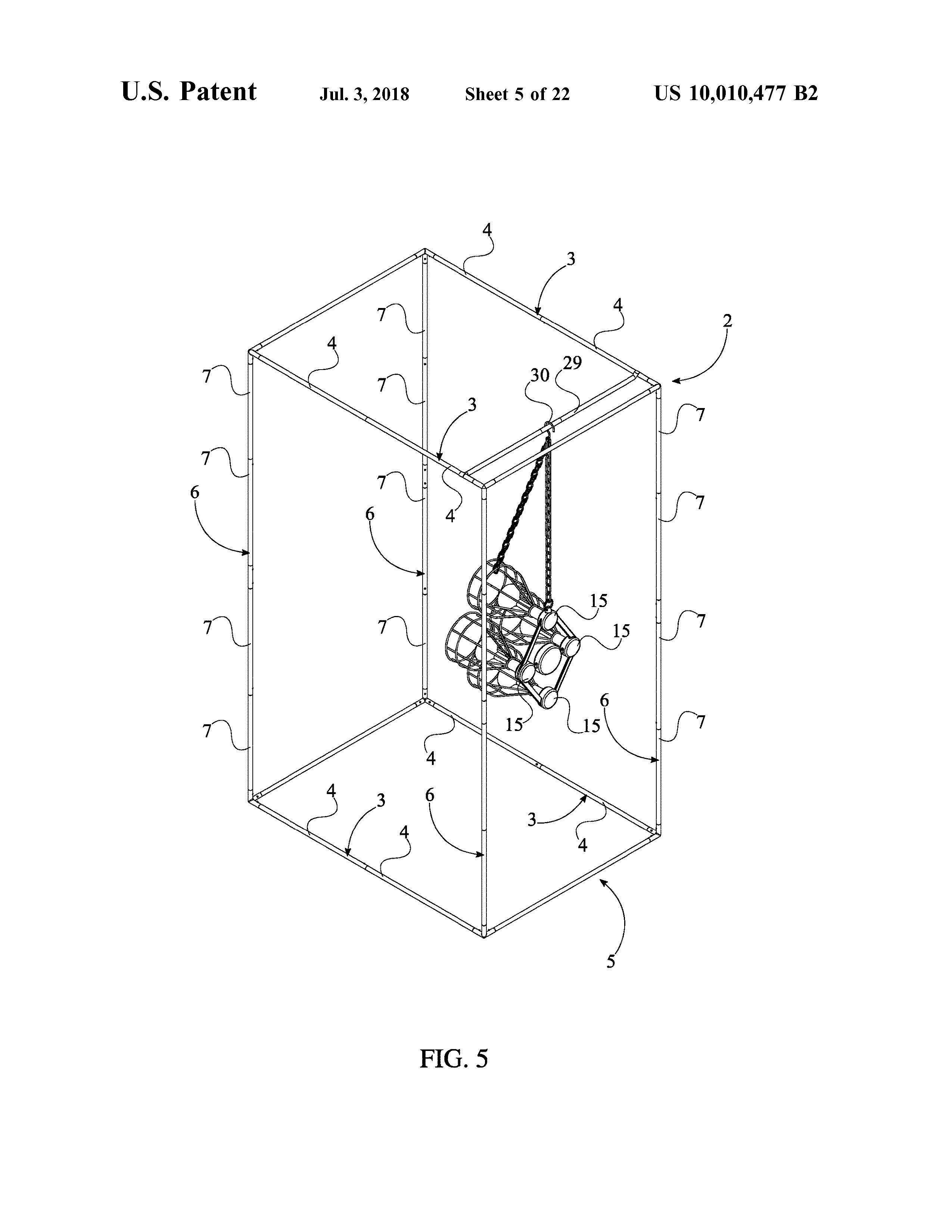 Sauna Tent Patent Page 7