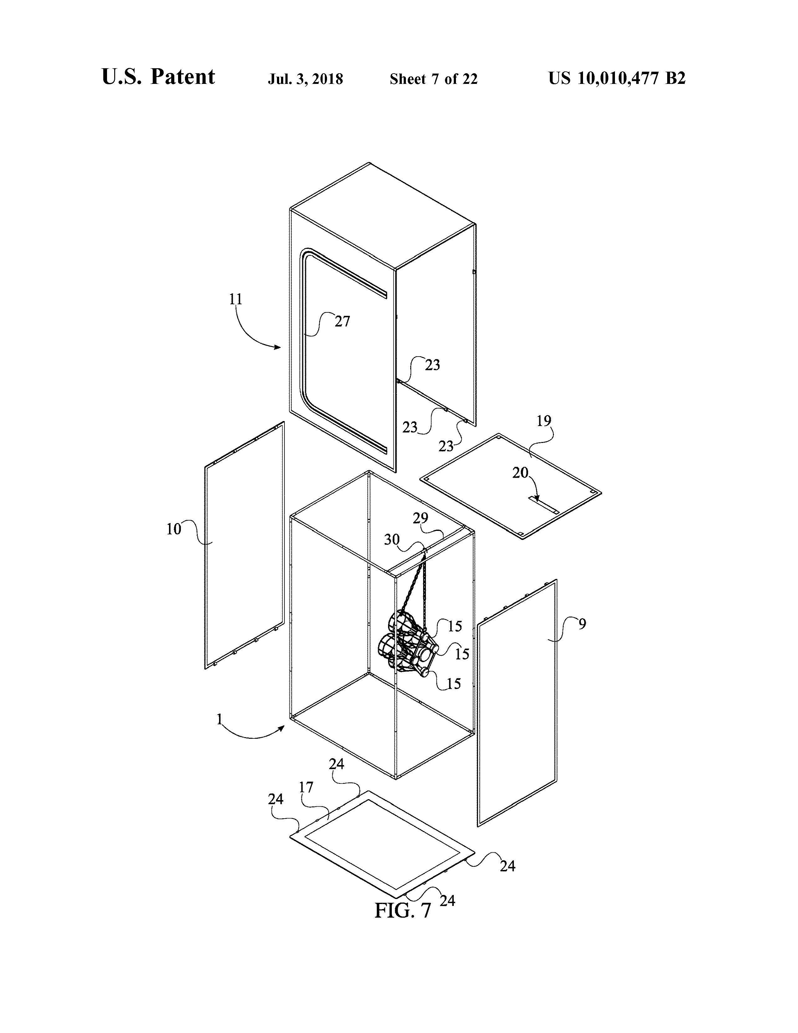 Sauna Tent Patent Page 9
