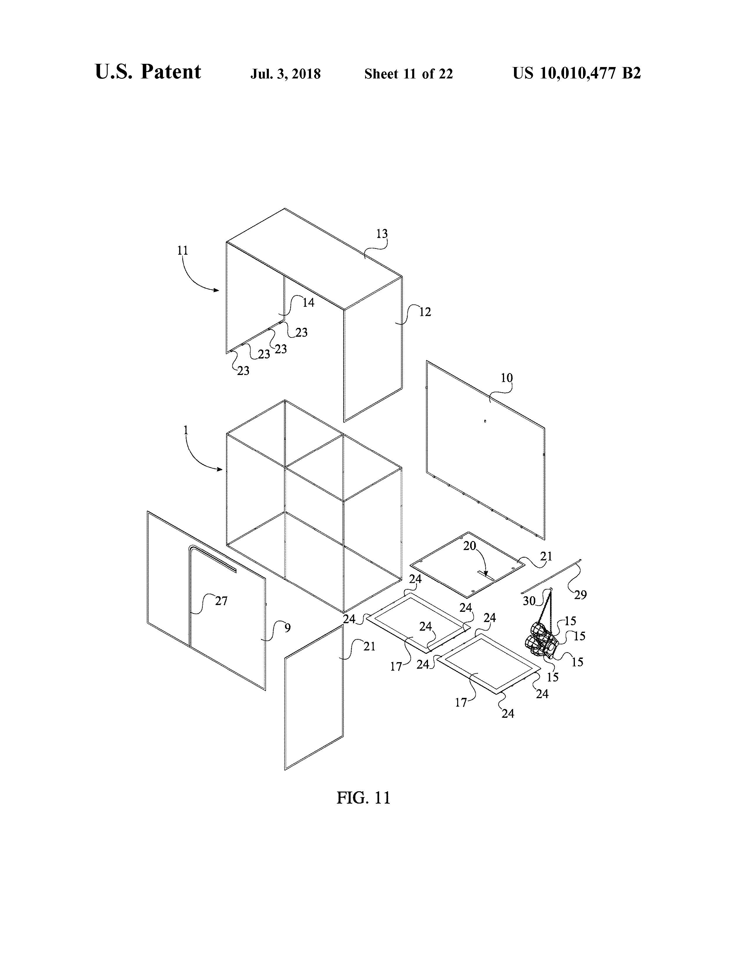 Sauna Tent Patent Page 13