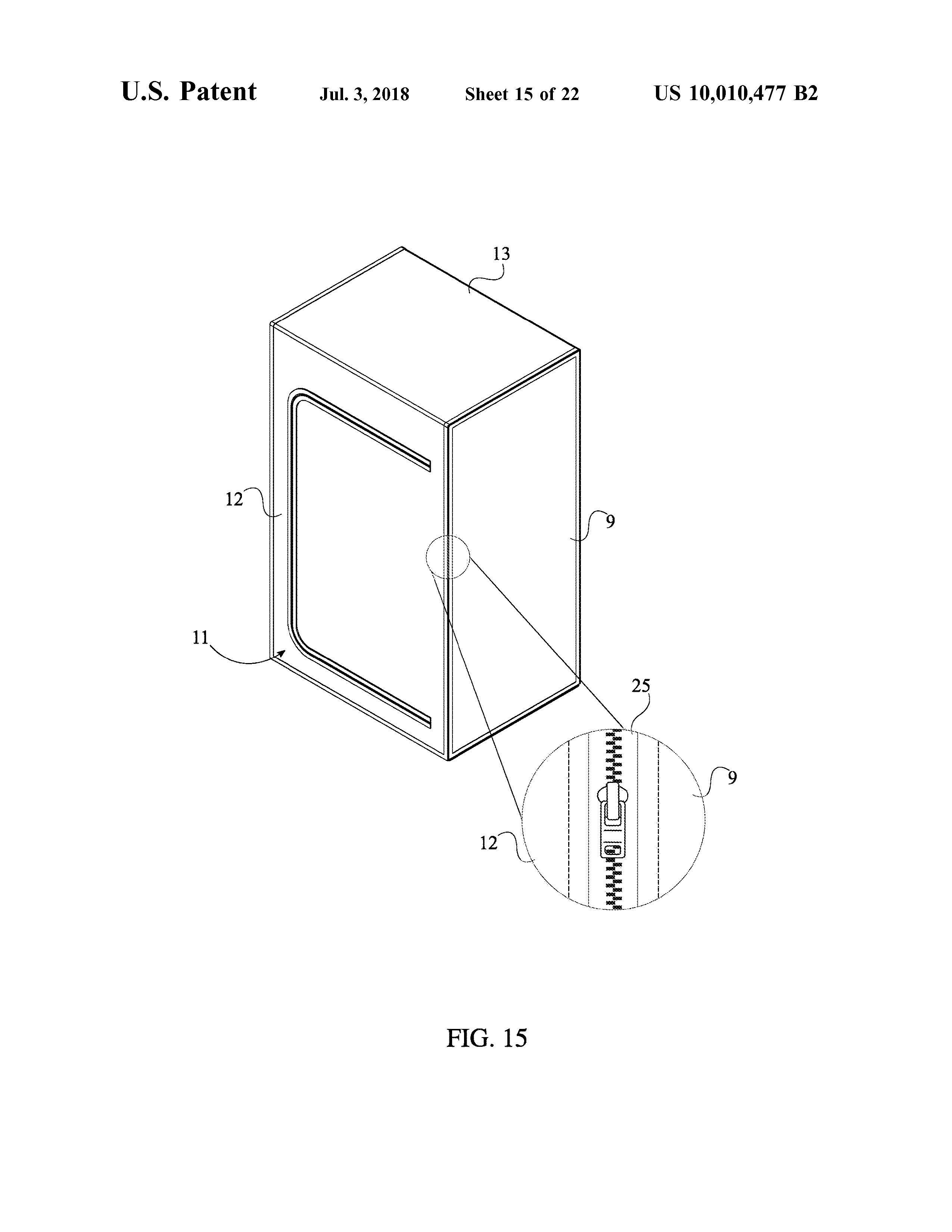Sauna Tent Patent