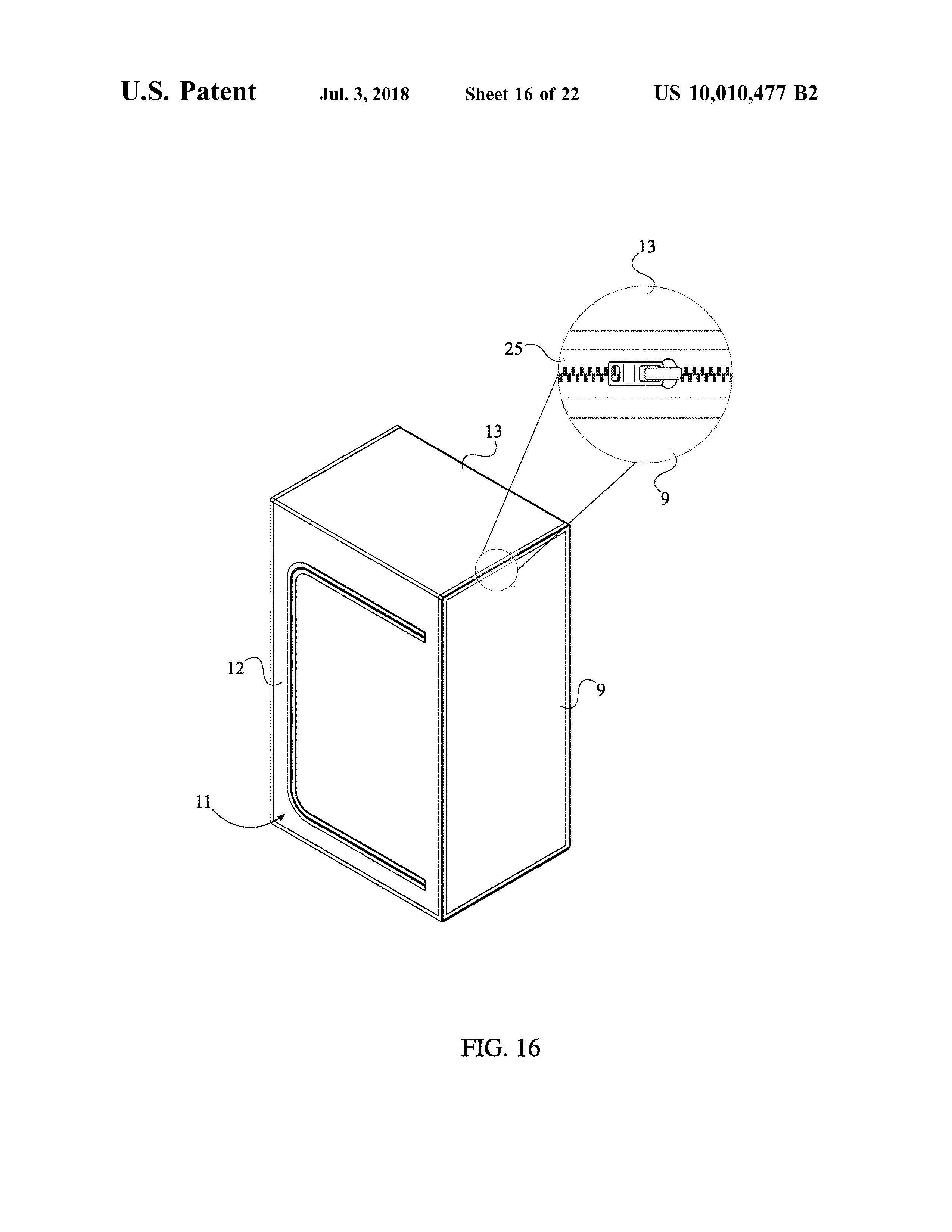 Sauna Tent Patent Page 18