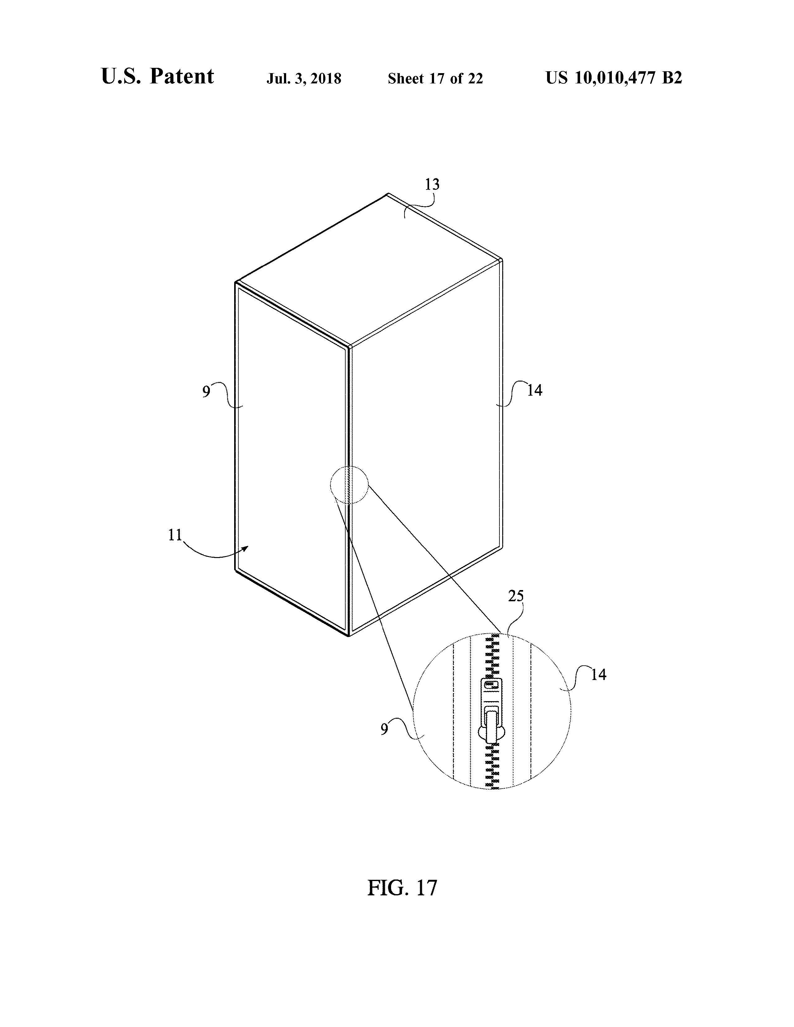 Sauna Tent Patent Page 19