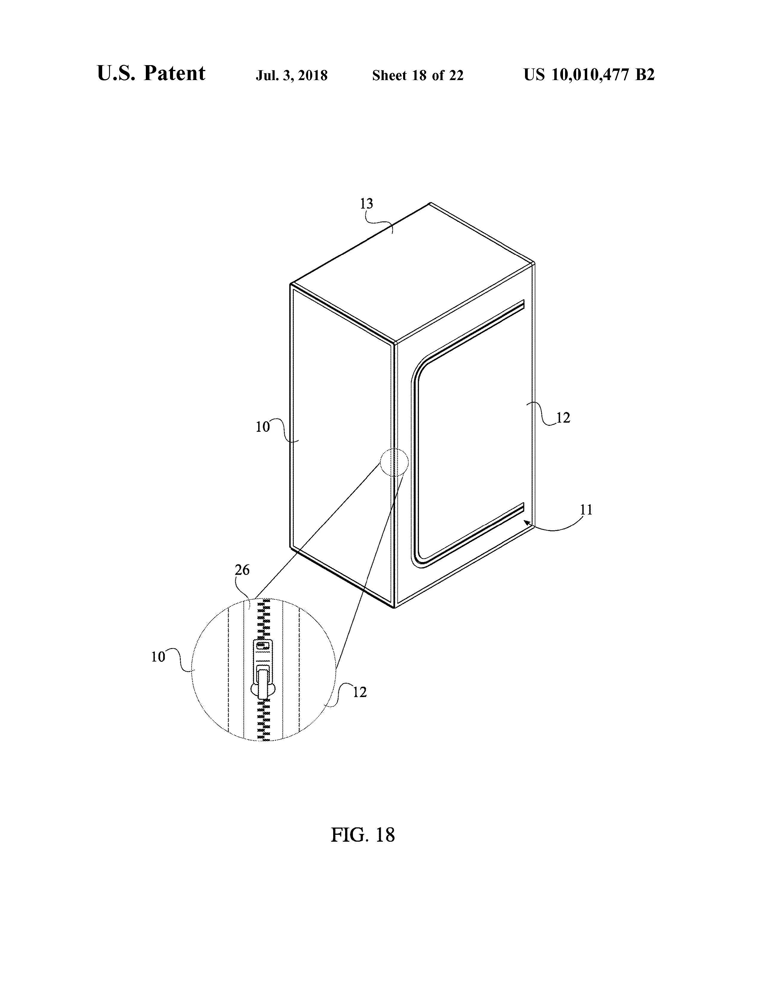 Sauna Tent Patent Page 20