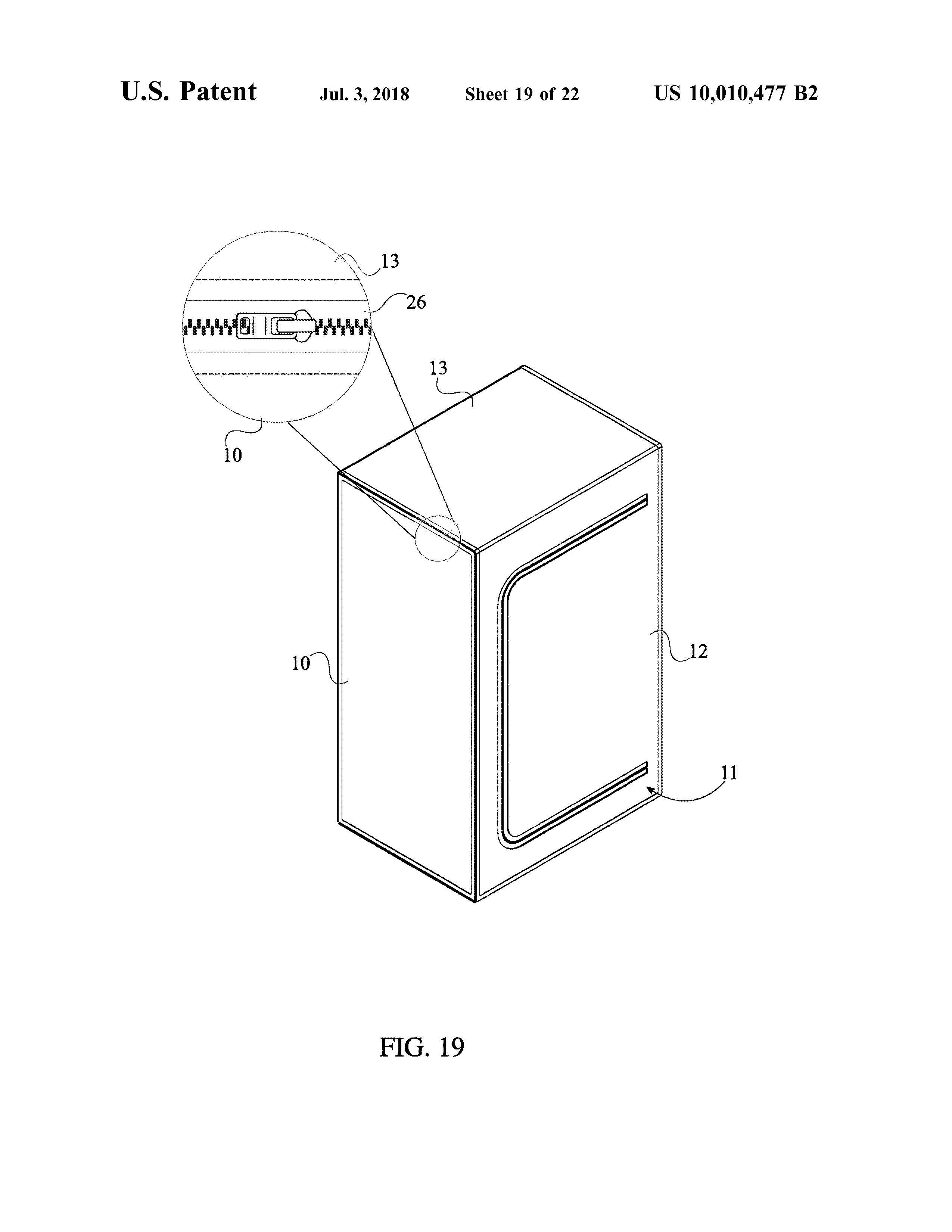 Sauna Tent Patent Page 21