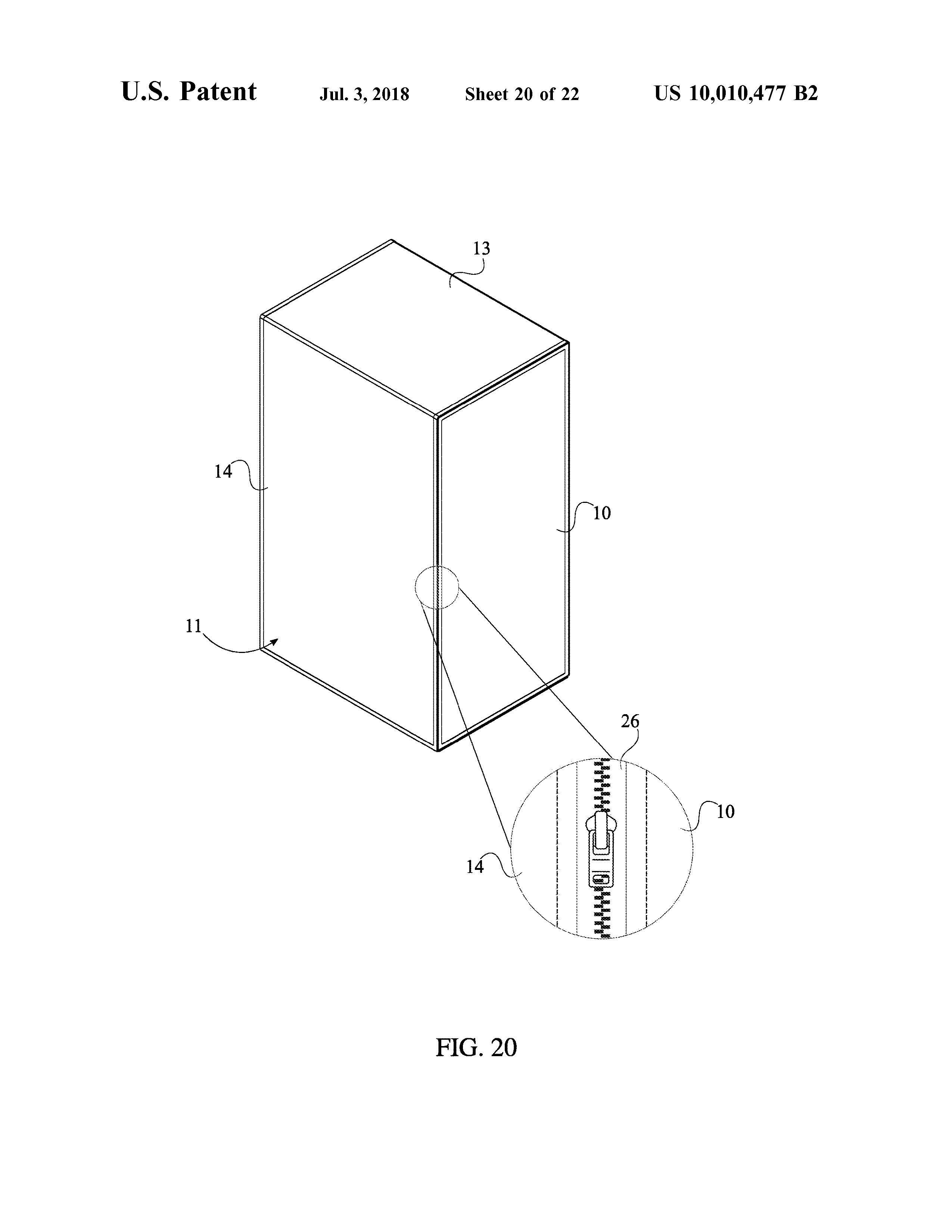 Sauna Tent Patent Page 22