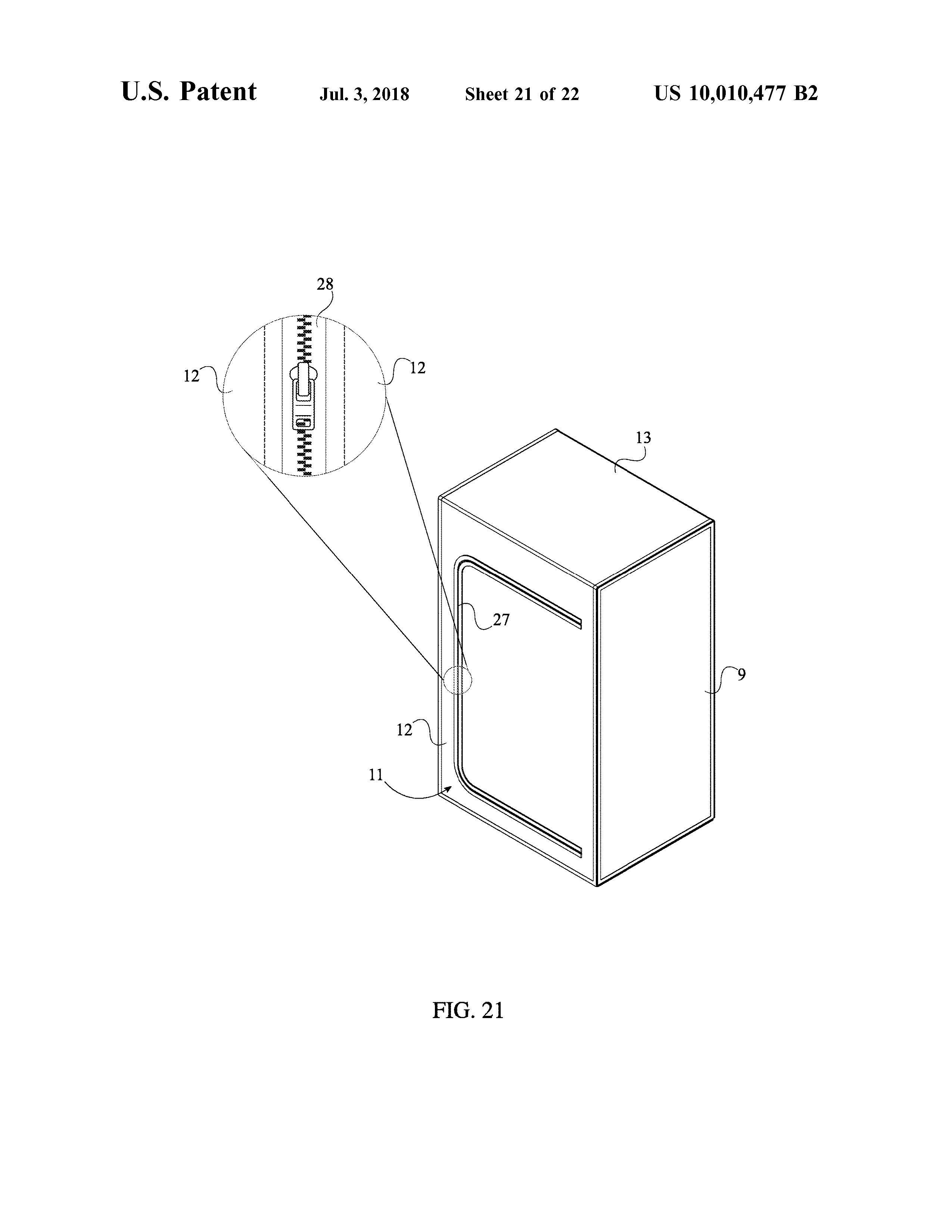 Sauna Tent Patent Page 23