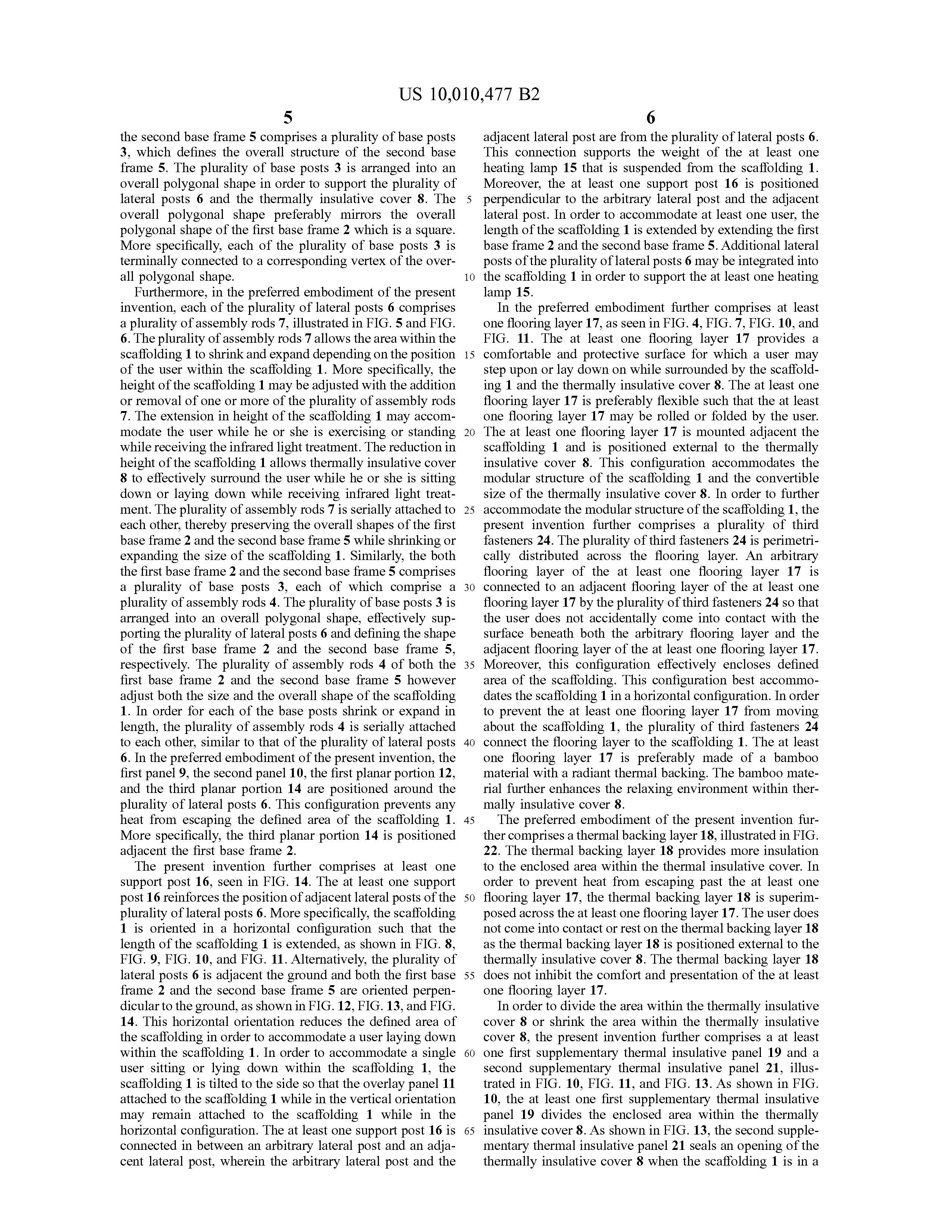 Sauna Tent Patent Page 27