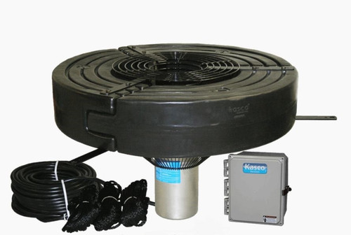 Kasco Marine 5.3VFX 5 HP 240V 3 Phase Fountain w/Float w/CF-3235 Controller