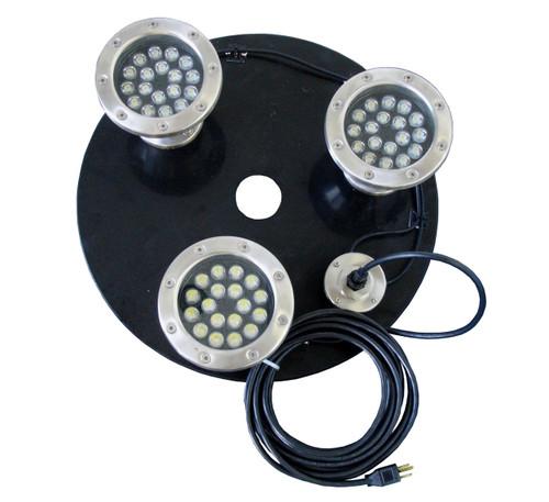 The Power House 1.5-3 HP 3-18 watt white LED lights