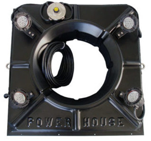 The Power House 4-3 Watt Color Changing LED Lights kits