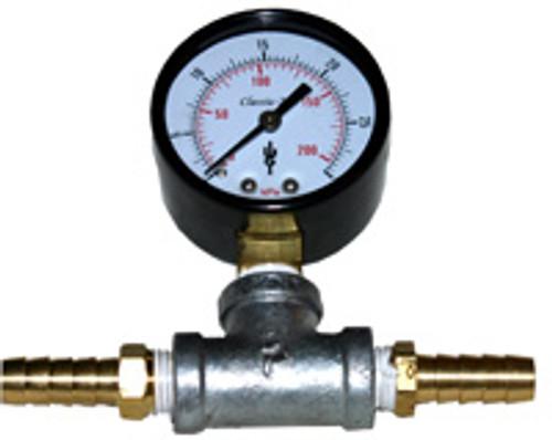 Outdoor Water Solutions ARL0044 In-Line pressure gauge