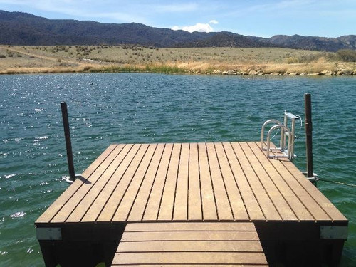 Outdoor Water Solutions DOK0258 10ft. x 10ft. Swim Platform DIY Kit
