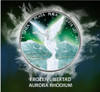 LIBERTAD Frozen Rhodium Aurora 1 Oz Silver Coin Mexico 2016 box