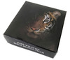 The BENGAL Tiger Rare Wildlife 2 oz .999 Silver 2017 Tanzania