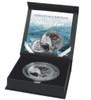 KODIAK BEAR Natures Eyes 2 Oz Silver Coin 2000 Francs Congo 2017