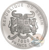 SOURCE OF LIFE 1 Oz Silver Coin 1000 Francs Benin 2017