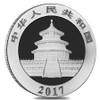 Panda Silver Coin 10 Yuan China 2017
