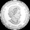 AROUND THE CAMPFIRE - GLOW-in-DARK $15 Silver Coin Canada 2017