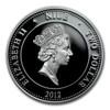 2012 1/2 oz Silver Niue $2 Lunar Dragon in Reptile Egg Case